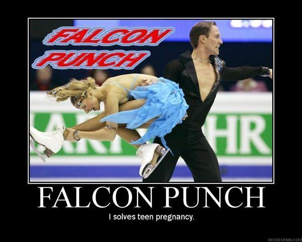Falcon Punch Demotivational