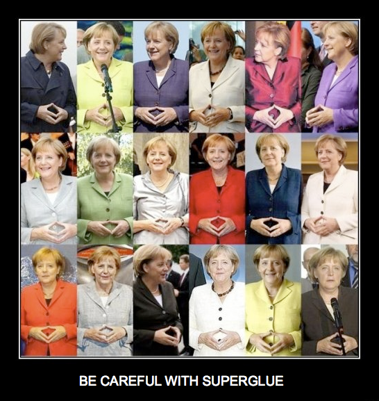 From German Chancellor Angela Merkel